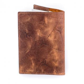 Обложка на паспорт / Aviation / Коричневый