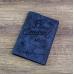 Обложка на паспорт / Aviation / Синий