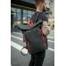 Рюкзак / Urban Bagpack / Черно-красный