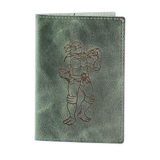 Обложка на паспорт / Cartoon / Зеленый