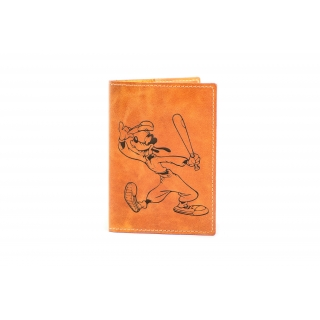 Обложка на паспорт / Cartoon / Светло-коричневый