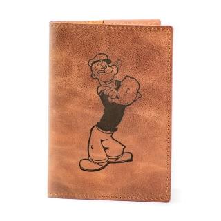Обложка на паспорт / Cartoon / Коричневый