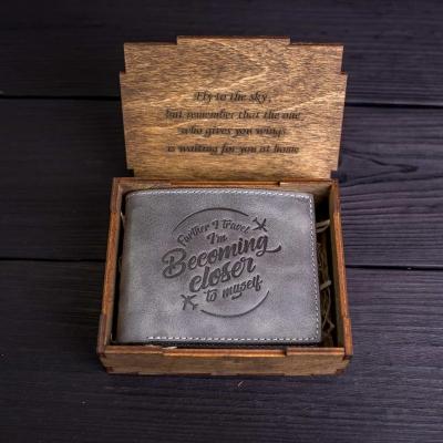 Шкіряні гаманці з натуральної шкіри ручної роботи