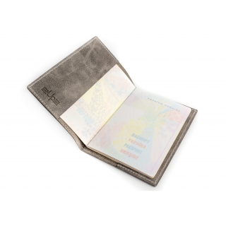 Обложка на паспорт / Travel around the world / Серый